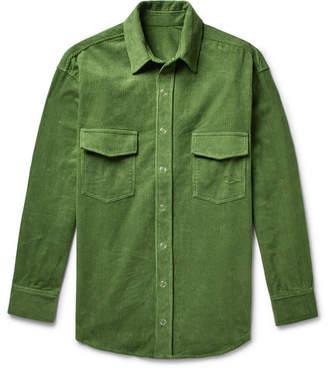 c2e7020ad0 The Elder Statesman Cotton-Corduroy Shirt Jacket