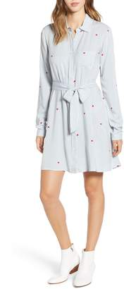 Love, Fire Hattie Heart Shirtdress