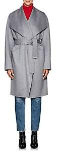 Xo Barneys Colombo Women's Double-Faced Cashmere Belted Coat-Gray