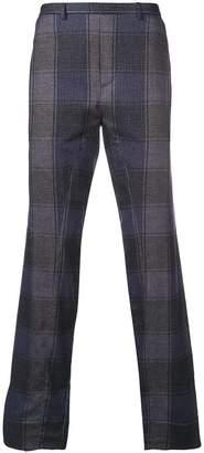Stephan Schneider straight-leg tartan trousers