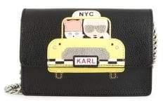 Karl Lagerfeld Paris NYC Taxi Crossbody Bag