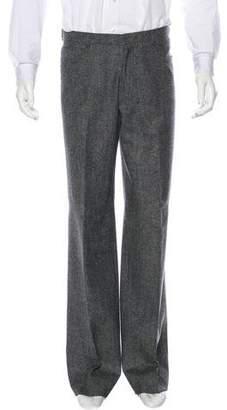 Neil Barrett Wool Flat Front Pants