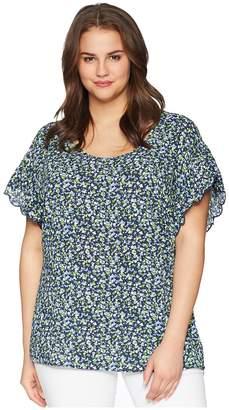 MICHAEL Michael Kors Size Tiny Wildflower Top Women's Clothing