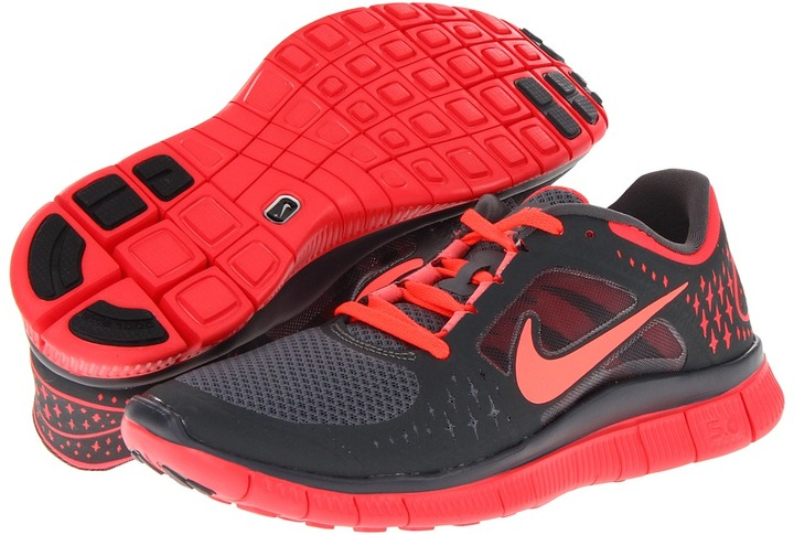 Nike Free Run+ 3 (Magenta/Sail/Reflective Silver) - Footwear