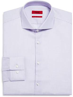 HUGO Textured Slim Fit Dress Shirt