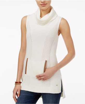 Tommy Hilfiger Blair High-Low Sleeveless Tunic, Only at Macy's $69.50 thestylecure.com