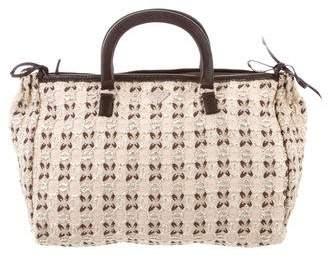 Prada Bow Cloquet Handle Bag