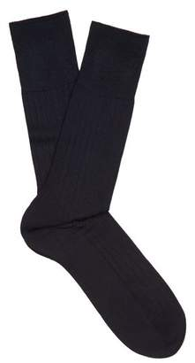 Falke N2 Cashmere Blend Socks - Mens - Navy