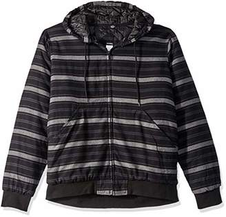 Dickies Men's Modern Fit Quilted Bomber Shirt Jacket