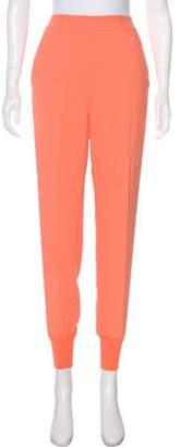 Stella McCartney High-Rise Skinny Joggers Orange High-Rise Skinny Joggers