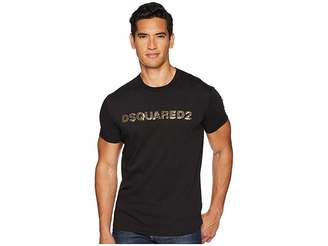 DSQUARED2 Waist Logo Long Fit T-Shirt
