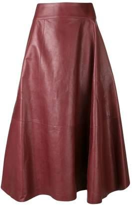 Bottega Veneta classic midi skirt