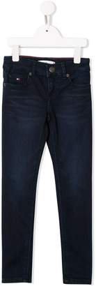 Tommy Hilfiger Junior stretch slim-fit jeans