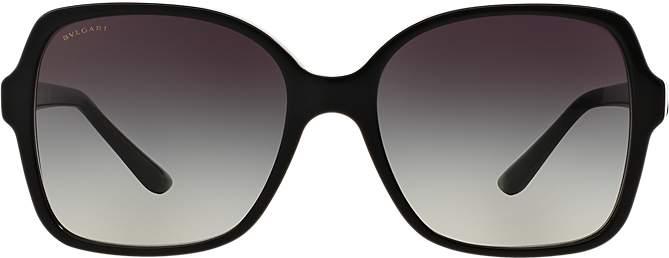 Bvlgari Black Square Sunglasses
