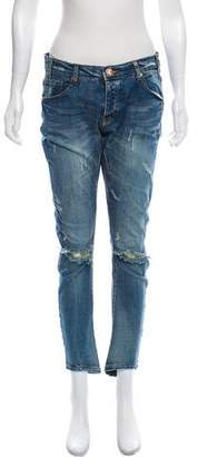 One Teaspoon One x Mid-Rise Skinny Jeans w/ Tags