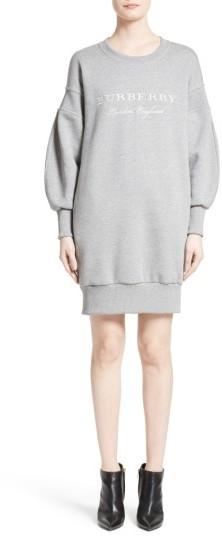 Women's Burberry Soure Sweatshirt Dress