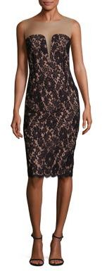 Bailey 44 Vivian Illusion Lace Dress $268 thestylecure.com