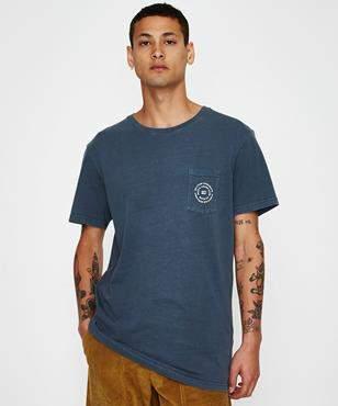 rhythm Pocket T-shirt Vintage Indigo