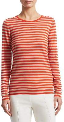 Akris Punto Multi Striped Wool Sweater