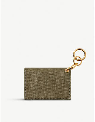 Chaos Bifold glossed canvas cardholder