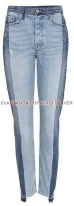GRLFRND Karolina two-tone jeans