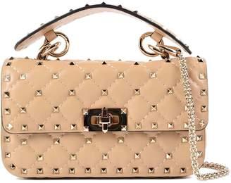 Valentino W Small Studded Shoulder Bag