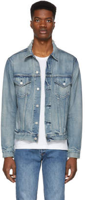 John Elliott Indigo Denim Thumper Type III Jacket