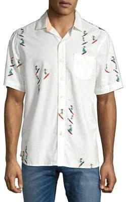 45211d14 Tommy Bahama Hula-Gals Camp Shirt