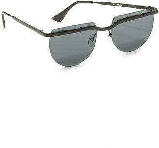 Le Specs Mafia Moderne Sunglasses $89 thestylecure.com