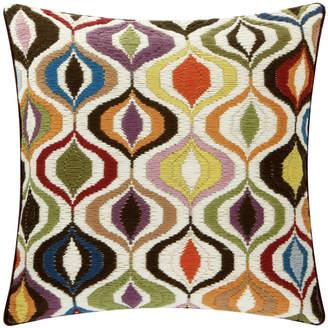Jonathan Adler Bargello Multi Waves Cushion
