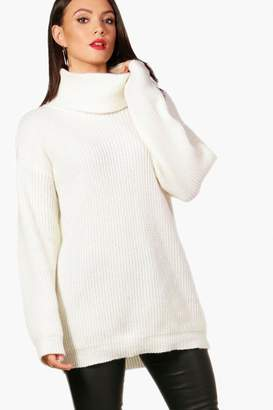 cbc060494417 boohoo Roll Neck Women's Sweaters - ShopStyle