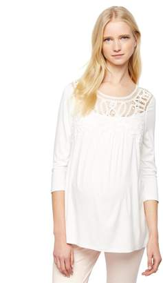 Daniel Rainn Lace Maternity Shirt