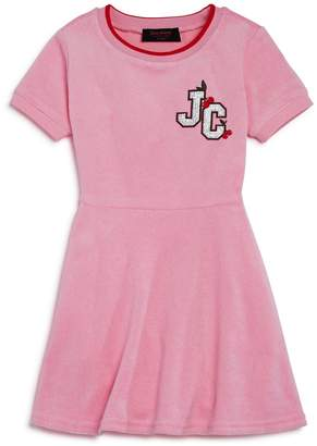 Juicy Couture Black Label Girls' Cherry Grove Terry Dress