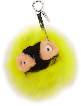 Fendi Flashy Bag Bugs Charm for Handbag Yellow\/Black\/Peach