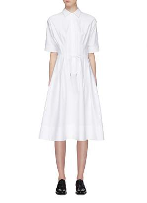 Thom Browne Tie waist shirt dress