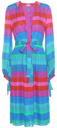 Etro Striped silk dress