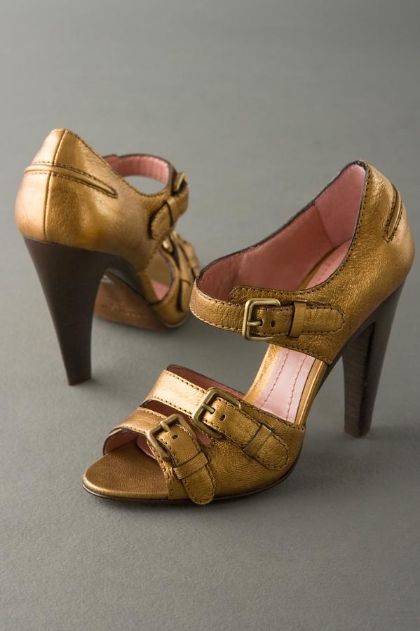 Derek Lam Yvette Buckle Sandal with Ankle Strap
