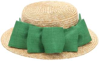 Straw Hat W/ Bow