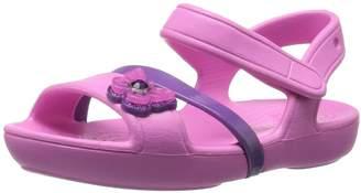 Crocs Girls' Lina K Flat Sandal