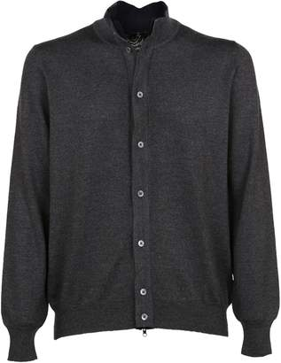 Fay Buttoned Knitted Cardigan