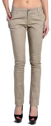 Dickies TheMogan Women's Lowrider Slant Pocket Skinny Pants - 5