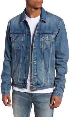 Topman Mid Wash Denim Jacket