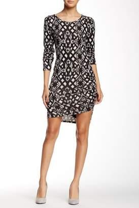 Loveappella Long Sleeve Midi Dress