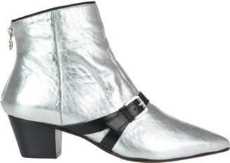 L'Autre Chose Crash Mirror Ankle Boots