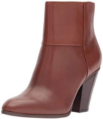 Nine West Women's Hollie Leather Ankle Boot