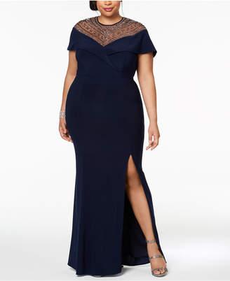 Xscape Plus Size Evening Dresses Shopstyle