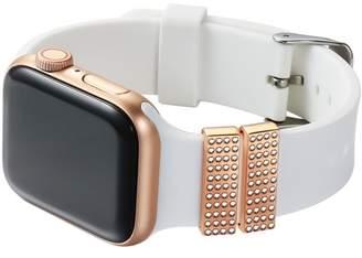 POSH TECH Rose Gold Apple Watch Band Charm - Set of 2