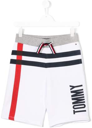 Tommy Hilfiger Junior jersey logo shorts