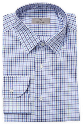 Canali Plaid Slim Fit Shirt