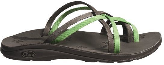 Chaco @Model.CurrentBrand.Name Leather Flip Ecotread Sandals - Recycled Materials (For Women)